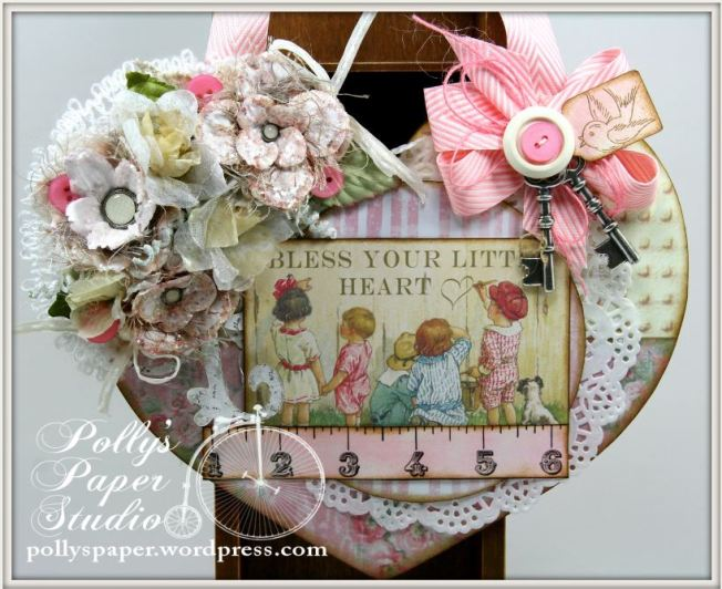Bless You Little Heart Wall Hanging 1