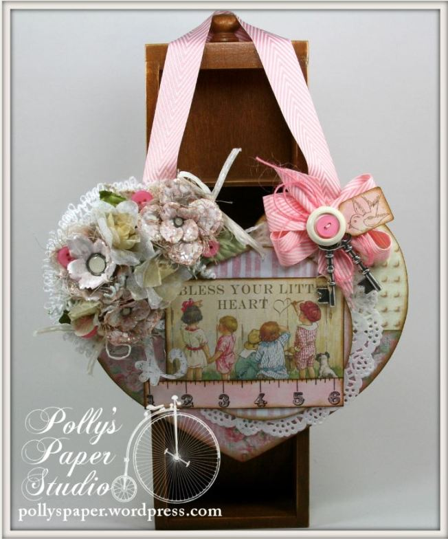 Bless You Little Heart Wall Hanging 4