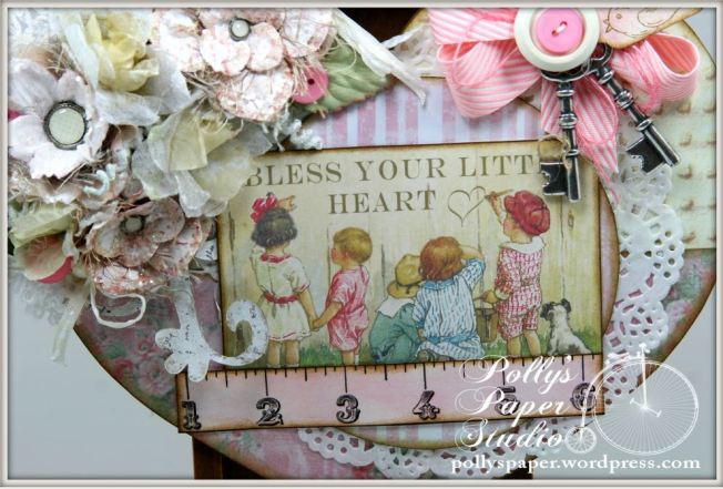 Bless You Little Heart Wall Hanging 5