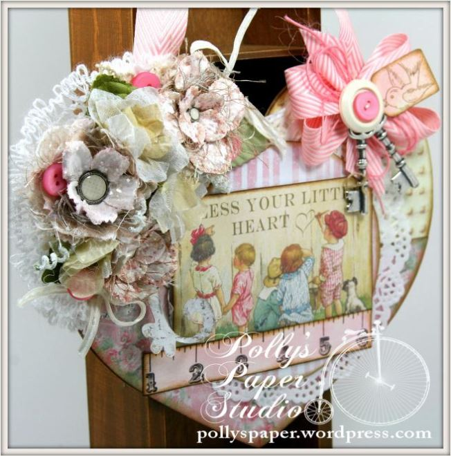 Bless You Little Heart Wall Hanging 6