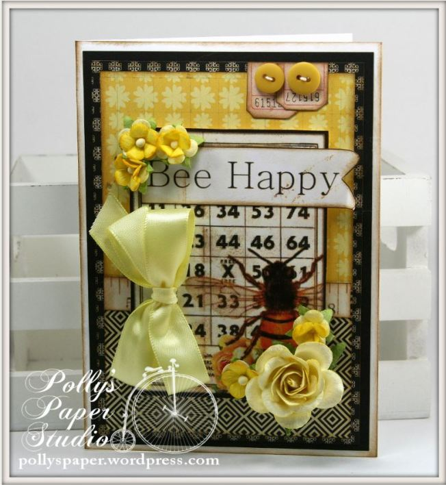 Things With Wings Bee Happy Card