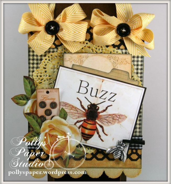 Things With Wings Bee Wall Hanging