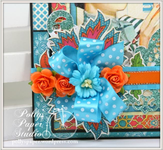 Retro Bright Summer Colors CArd 2