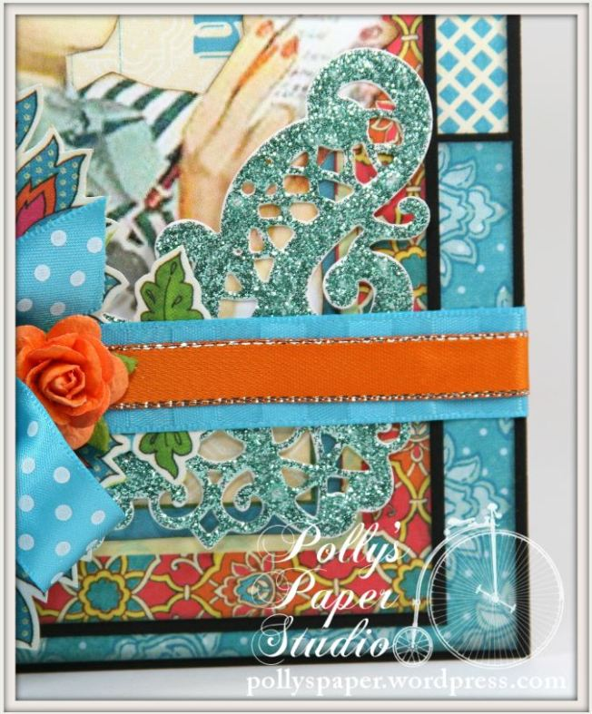 Retro Bright Summer Colors CArd 3