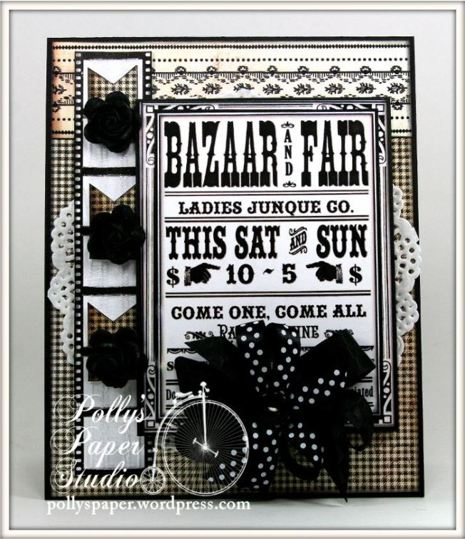 Bazaar and Fair Card 1