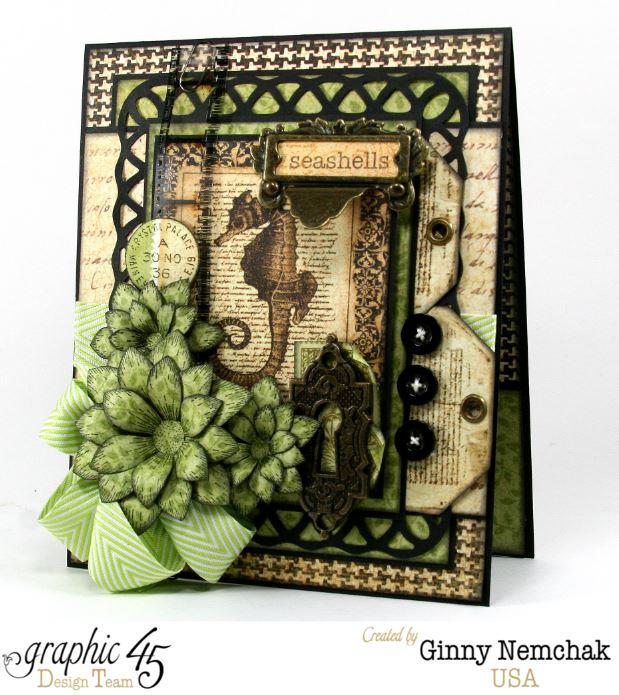 Botanicabella Seahorse Card 1