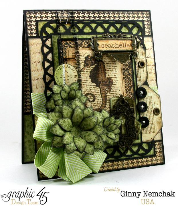 Botanicabella Seahorse Card 2