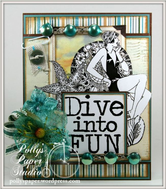 Dive Into Fun Card 1