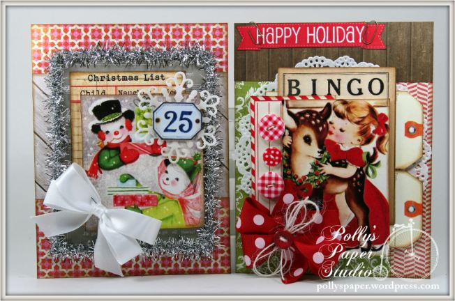 retro christmas creativity kit cards 3
