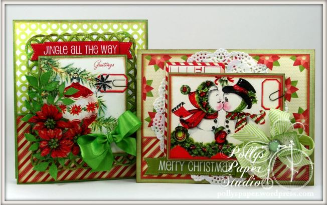 retro christmas creativity kit cards 4