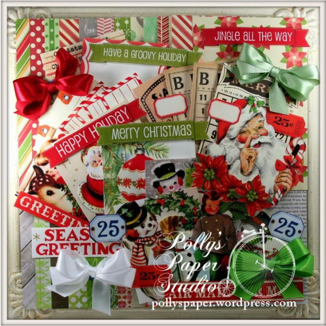 retro christmas creativity kit
