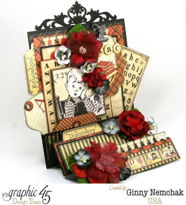 ABC Primer Fancy Fold Card 6