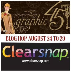 Clearsnap -Graphic 45 Decades Ink