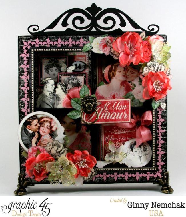 Mon Amour Window Shadow Box 1