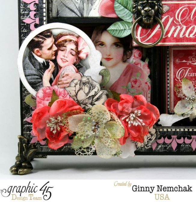 Mon Amour Window Shadow Box 2