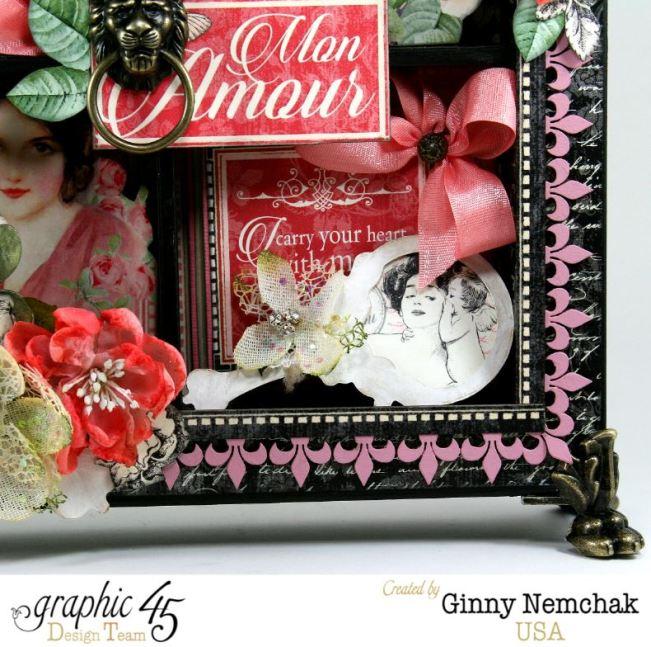Mon Amour Window Shadow Box 3