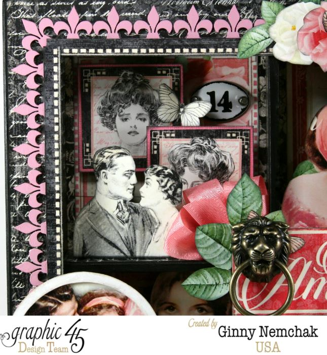 Mon Amour Window Shadow Box 5