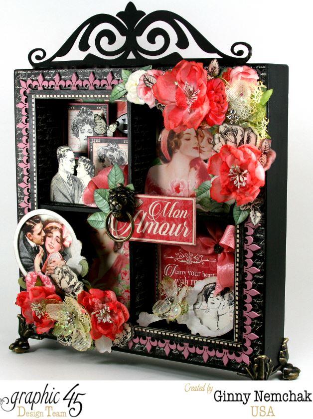 Mon Amour Window Shadow Box 6