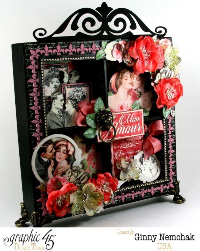 Mon Amour Window Shadow Box 7