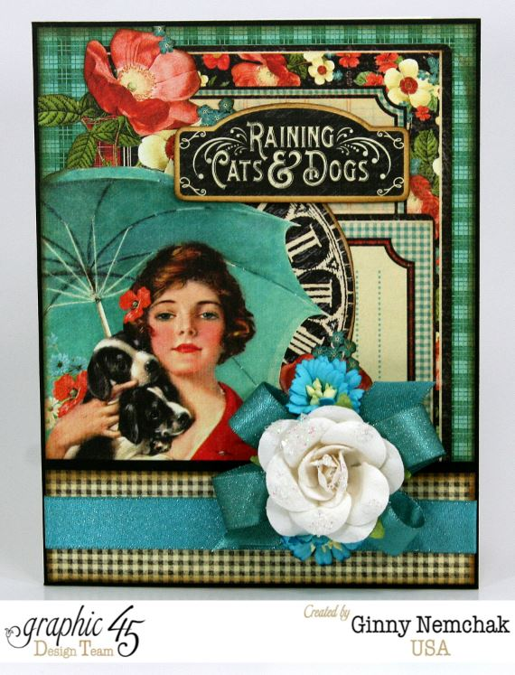 Raining Cats and Dogs Card 1
