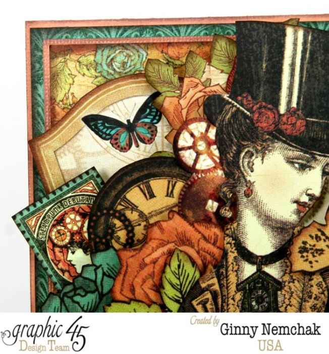 Steampunk Card for Clearsnap Bog Hop 5