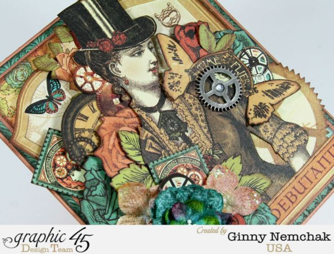 Steampunk Card for Clearsnap Bog Hop 6