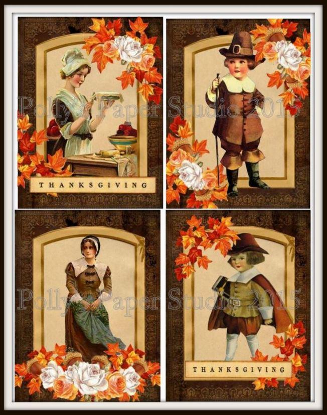 Thanksgiving Large Cards Watermark