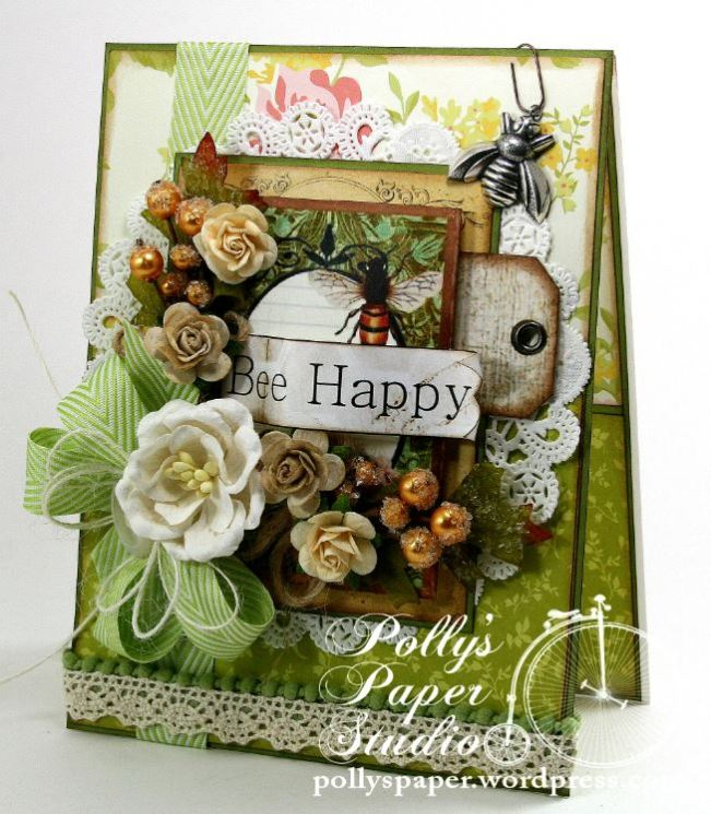 Bee Happy Card 1