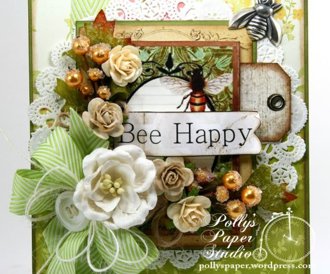 Bee Happy Card 4