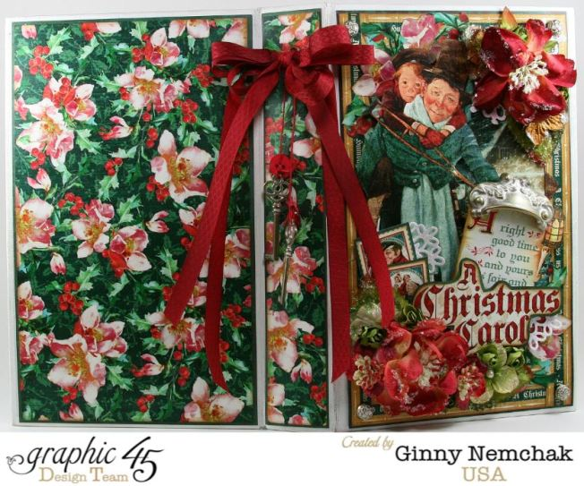 Christmas Carol Mini Album 8