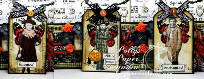 Halloween Witch Fairies Pocet with Tags 6