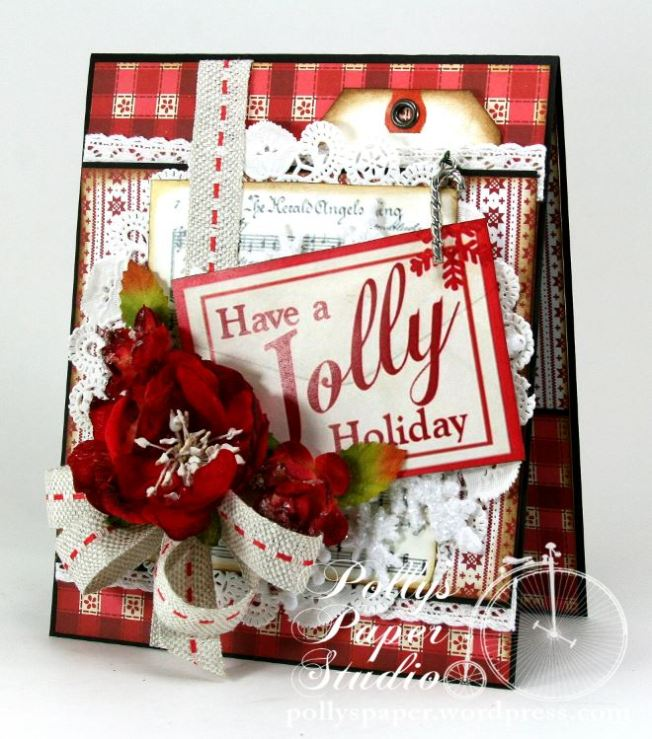 Have a Jolly Holiday Card 1