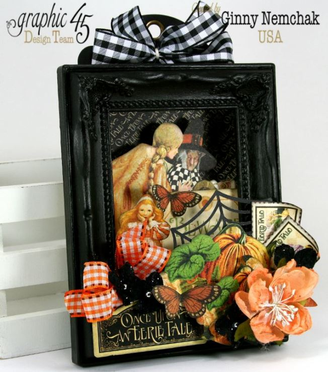 An Eerie Tale Shadow Box Frame 1