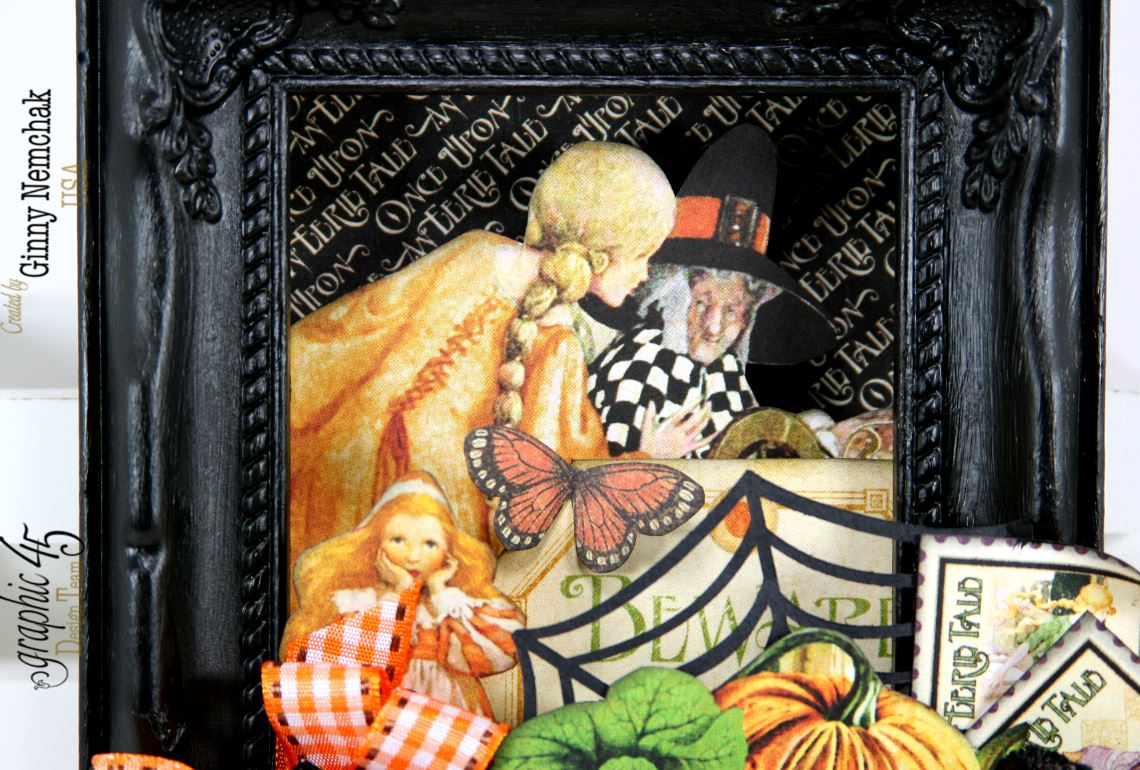 An Eerie Tale Shadow Box Frame Polly S Paper Studio
