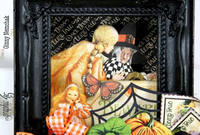 An Eerie Tale Shadow Box Frame 4