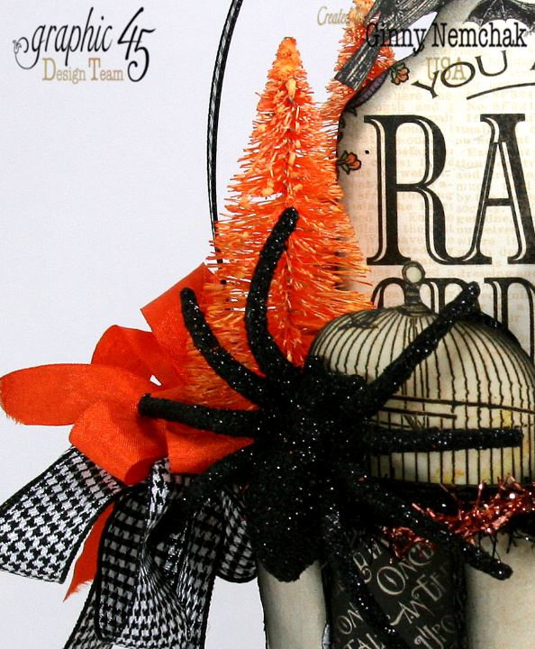 Art-c Vintage Halloween Basket 3