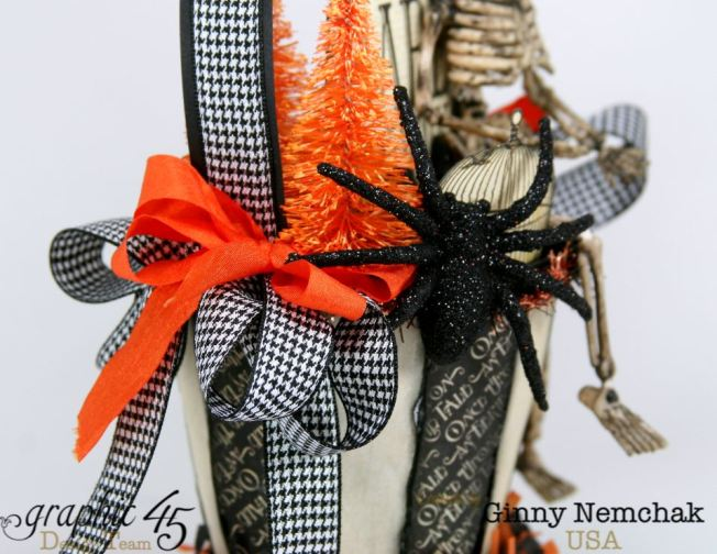 Art-c Vintage Halloween Basket 4