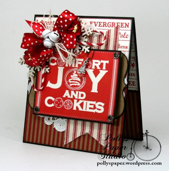 comfort and joy and cookies card 2