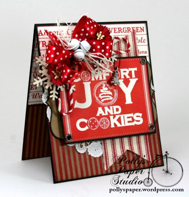 comfort and joy and cookies card 3