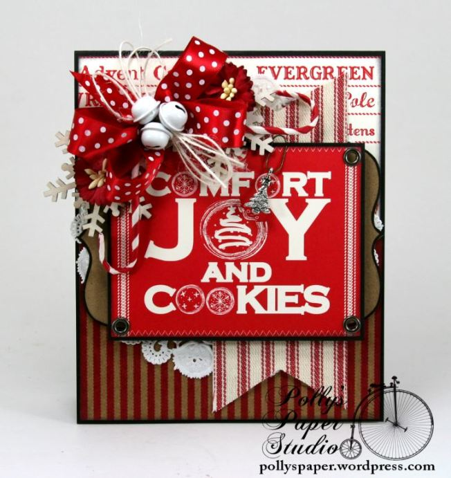 comfort and joy and cookies card 4
