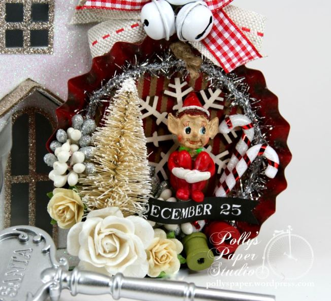 Elf on the Shelf Tart Tin Ornament 2