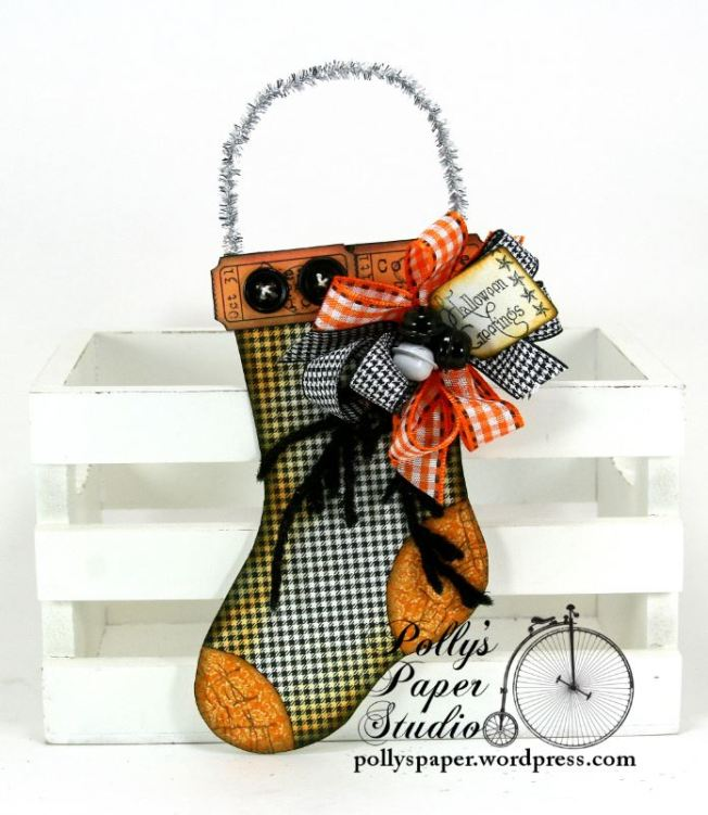 Halloween Stocking Ornament 1 a