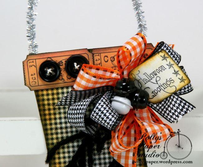 Halloween Stocking Ornament 1 b