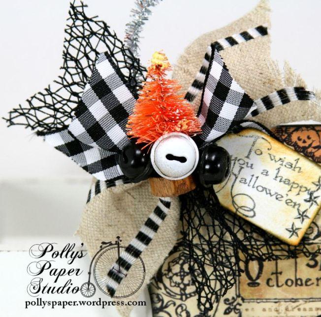 Halloween Stocking Ornament 2 b