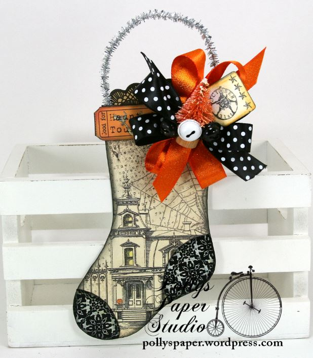 Halloween Stocking Ornament 3a