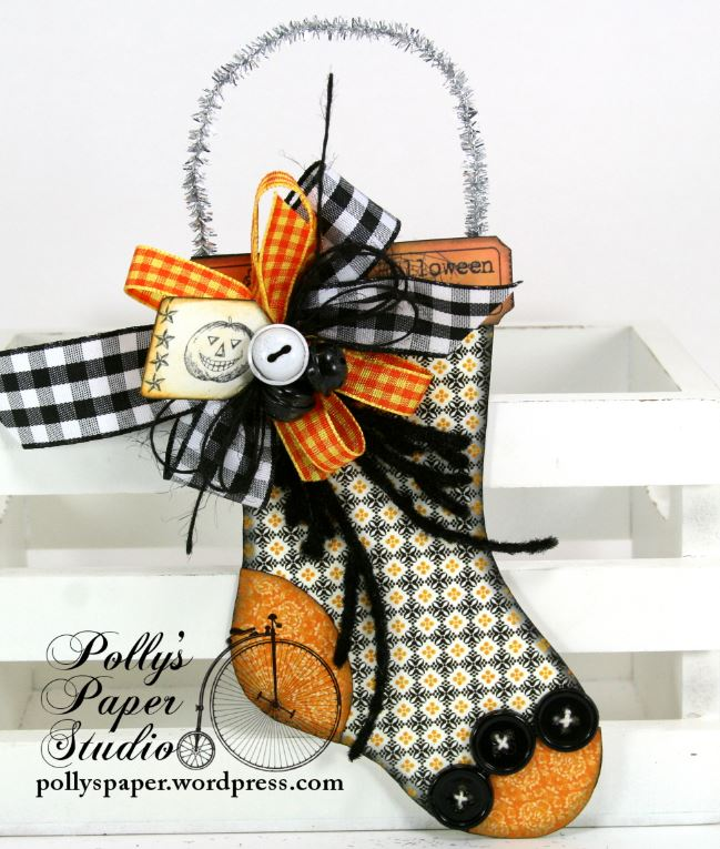 Halloween Stocking Ornament 4a
