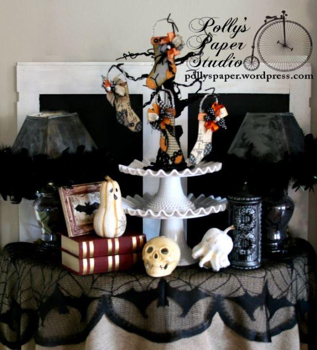 Halloween Stockings Tree2