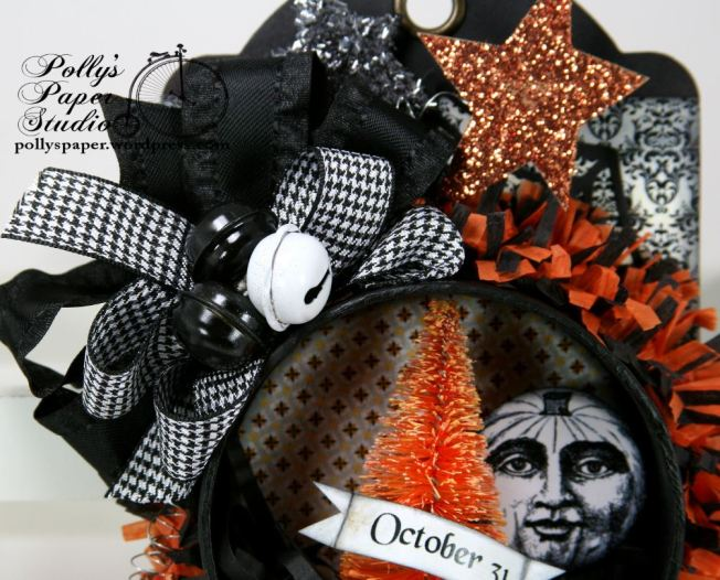Halloween Tag Ornament Oct 31 4
