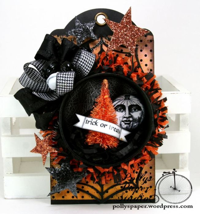 Halloween Tag Ornament Trick or Treat 1