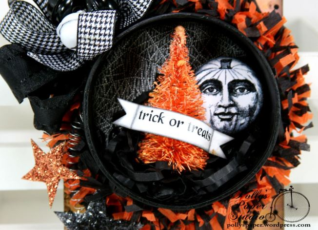 Halloween Tag Ornament Trick or Treat 2